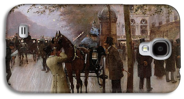 The Boulevards Galaxy S4 Case by Jean Beraud