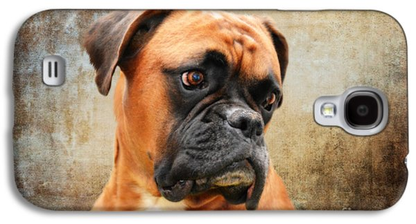The Boxer Galaxy S4 Case by Nichola Denny