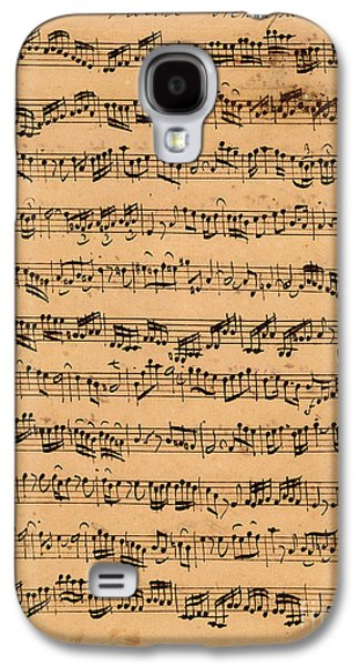 The Brandenburger Concertos Galaxy S4 Case by Johann Sebastian Bach
