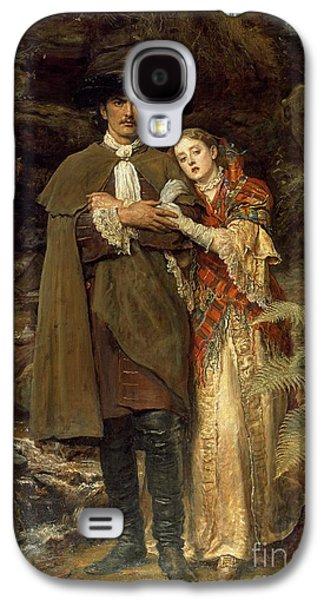The Bride Of Lammermoor Galaxy S4 Case by Sir John Everett Millais