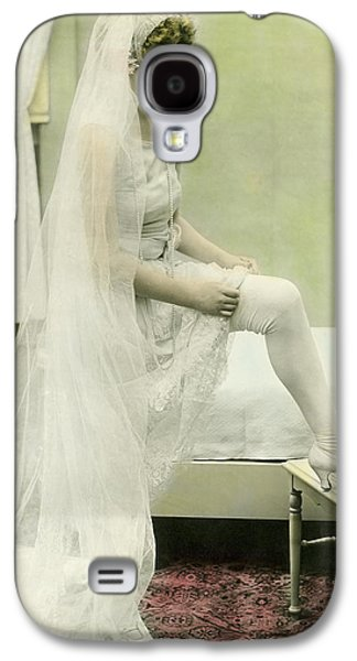 The Bride Retires Galaxy S4 Case by Underwood Archives