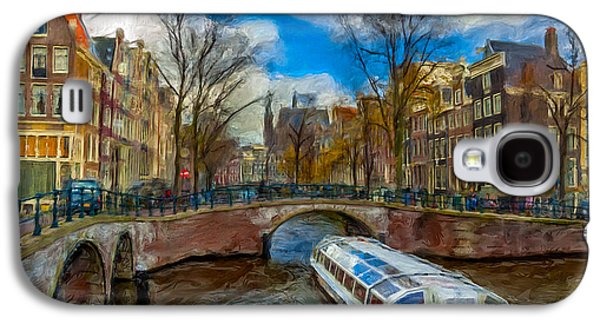 The Bridges Of Amsterdam Galaxy S4 Case by Juan Carlos Ferro Duque