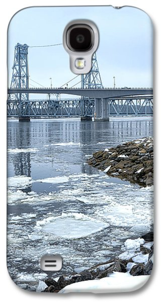 The Bridges Of Bath In Winter Galaxy S4 Case by Olivier Le Queinec