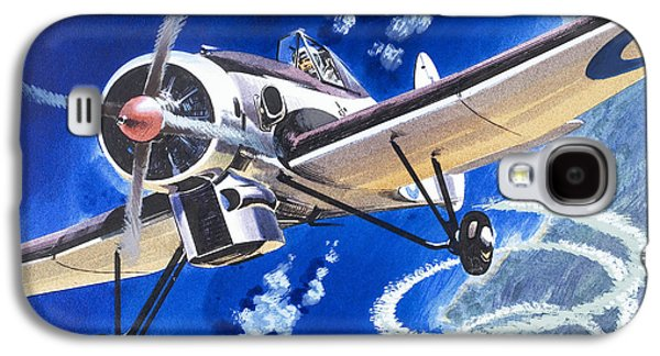 The Bristol 138a Attempts An Altitude Record Galaxy S4 Case by Wilf Hardy
