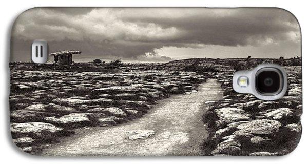 The Burren Ireland With Poulnabrone Dolmen Galaxy S4 Case