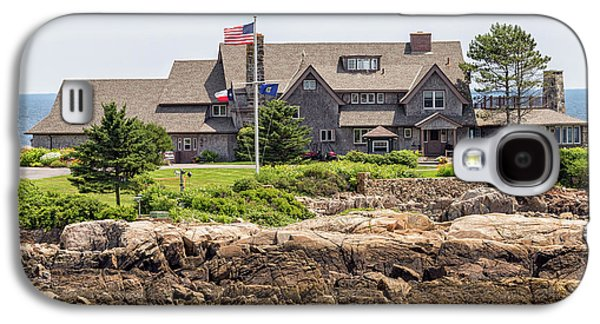 The Bush Compound Kennebunkport Maine Galaxy S4 Case by Brian MacLean