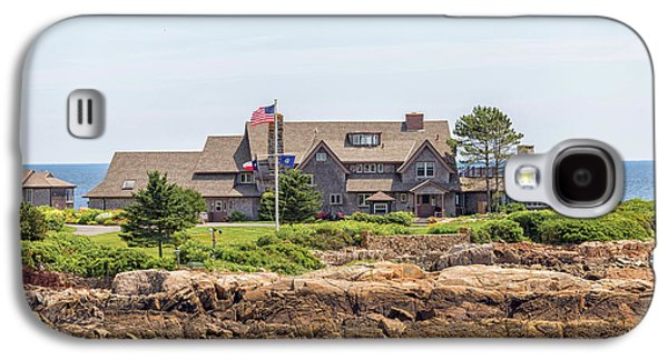 The Bush Family Compound On Walkers Point Galaxy S4 Case by Brian MacLean