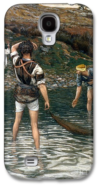 The Calling Of Saint Peter And Saint Andrew Galaxy S4 Case by Tissot