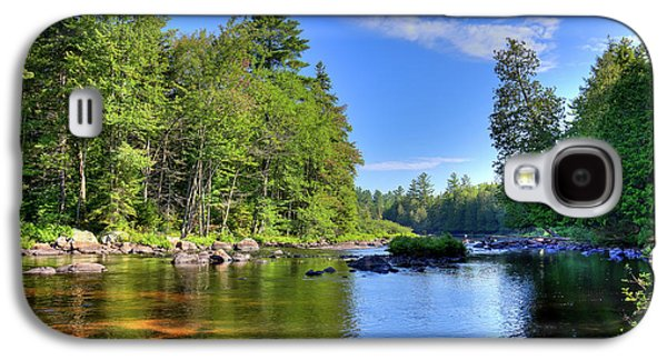 The Calm Below Buttermilk Falls Galaxy S4 Case by David Patterson