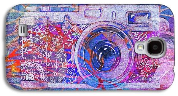 The Camera - 02c3t Galaxy S4 Case