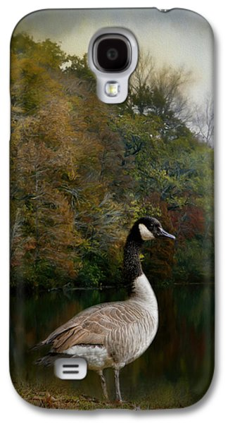 The Canadian Goose Galaxy S4 Case by Jai Johnson