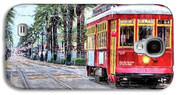 Galaxy S4 Case featuring the photograph The Canal Street Streetcar by JC Findley