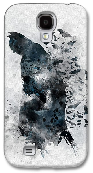 The Caped Crusader Galaxy S4 Case by Rebecca Jenkins