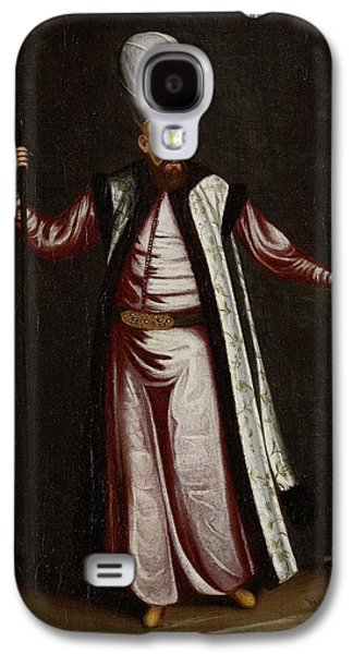 The Capoudgi Bachi, Grand-master Of The Seraglio, Jean Baptiste Vanmour, 1700 - 1737 Galaxy S4 Case by Celestial Images