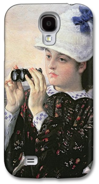 The Captain's Daughter Galaxy S4 Case by Tissot