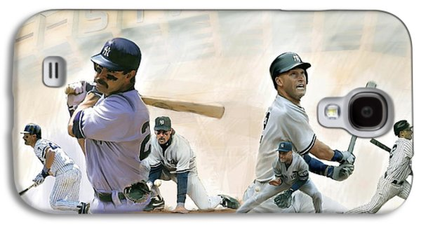The Captains II Don Mattingly And Derek Jeter Galaxy S4 Case