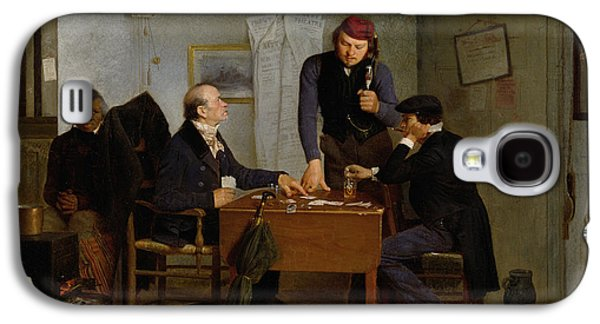 The Card Players Galaxy S4 Case by  Richard Caton Woodville