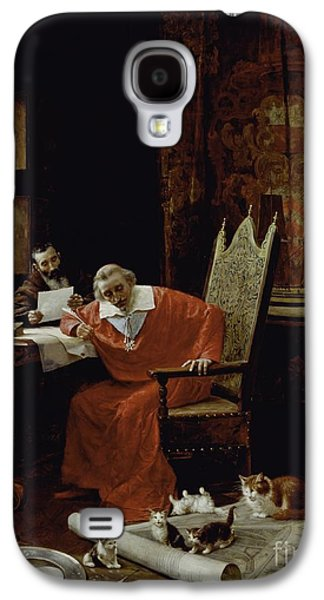 The Cardinal's Leisure  Galaxy S4 Case by Charles Edouard Delort