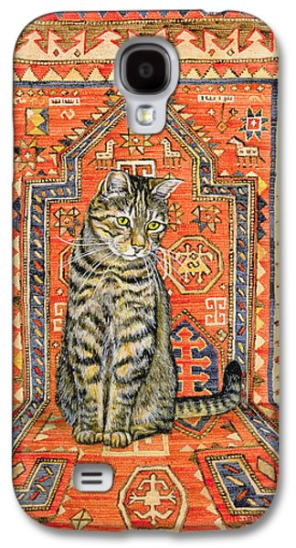 The Carpet Cat Galaxy S4 Case by Ditz