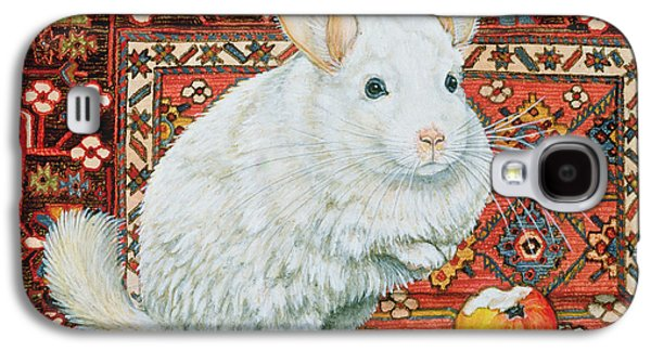 The Carpet Chinchilla Galaxy S4 Case by Ditz