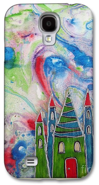 The Castle Forgives Galaxy S4 Case by Aqualia
