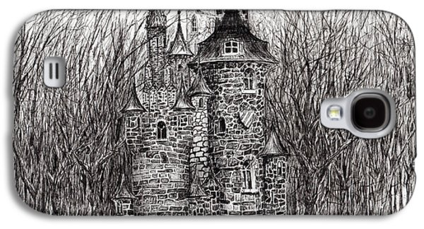 The Castle In The Forest Of Findhorn Galaxy S4 Case by Vincent Alexander Booth