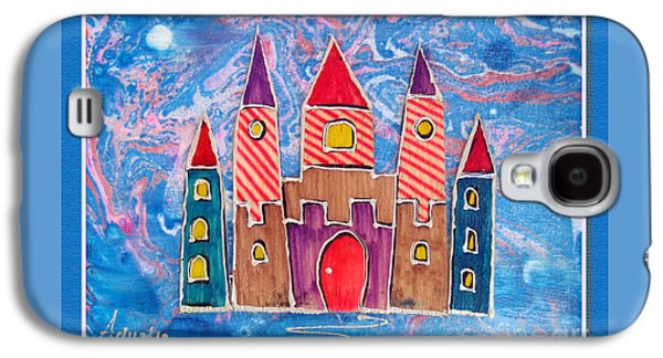 The Castle Is Festive Galaxy S4 Case by Aqualia