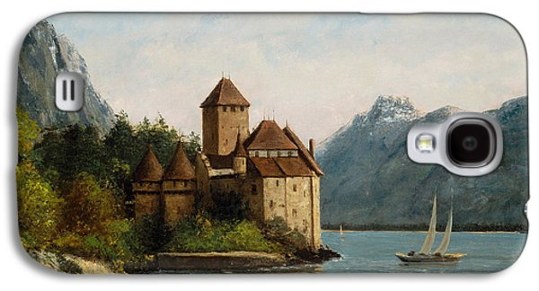 The Castle Of Chillon Evening Galaxy S4 Case