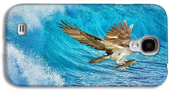 Osprey Galaxy S4 Case - The Catch by Laura D Young