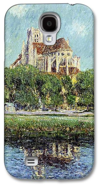 The Cathedral At Auxerre Galaxy S4 Case by Gustave Loiseau