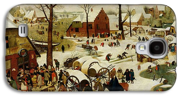 The Census At Bethlehem Galaxy S4 Case by Pieter the Younger Brueghel