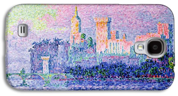 The Chateau Des Papes Galaxy S4 Case by Paul Signac