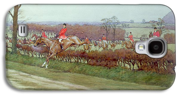 The Cheshire Away From Tattenhall Galaxy S4 Case by Cecil Charles Windsor Aldin
