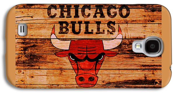 The Chicago Bulls 2w Galaxy S4 Case by Brian Reaves