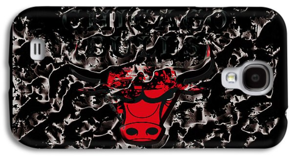 The Chicago Bulls 3e Galaxy S4 Case by Brian Reaves