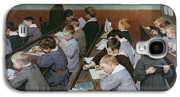 The Children's Class Galaxy S4 Case by Henri Jules Jean Geoffroy