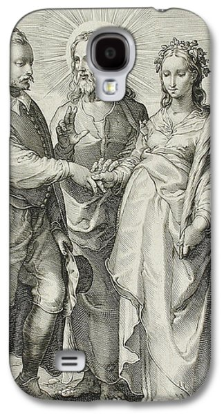 The Christian Marriage Galaxy S4 Case by Jan Saenredam