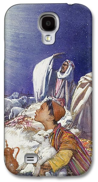 The Christmas Story The Shepherds' Tale Galaxy S4 Case by John Millar Watt