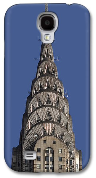 The Chrysler Building - Deco Detail Galaxy S4 Case by Rona Black