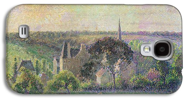 The Church And Farm Of Eragny Galaxy S4 Case