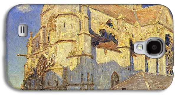 The Church At Moret Galaxy S4 Case by Alfred Sisley