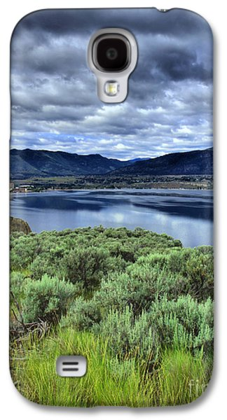 Tara Turner Galaxy S4 Cases - The City and the Clouds Galaxy S4 Case by Tara Turner
