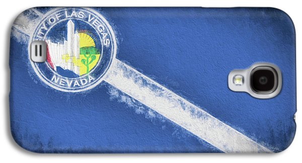 Galaxy S4 Case featuring the digital art The City Flag Of Las Vegas by JC Findley