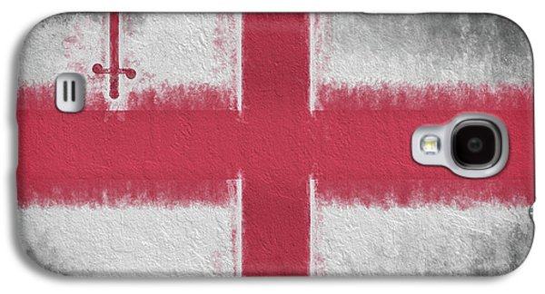 Galaxy S4 Case featuring the digital art The City Flag Of London by JC Findley
