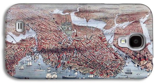 The City Of Boston Galaxy S4 Case