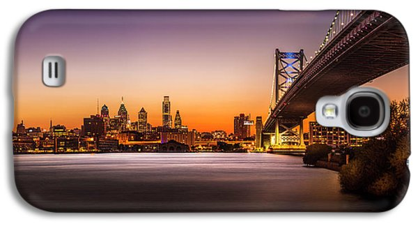 The City Of Philadelphia Galaxy S4 Case by Marvin Spates