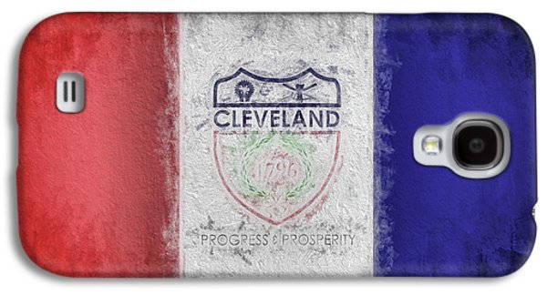Galaxy S4 Case featuring the digital art The Cleveland City Flag by JC Findley