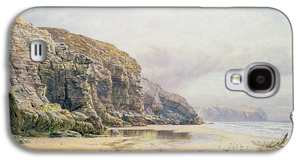 The Coast Of Cornwall  Galaxy S4 Case by John Mogford