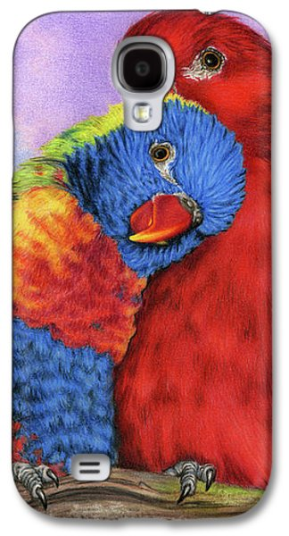Lovebird Galaxy S4 Case - The Color Of Love by Sarah Batalka