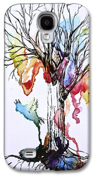 The Colour Tree Galaxy S4 Case by Haley Howard